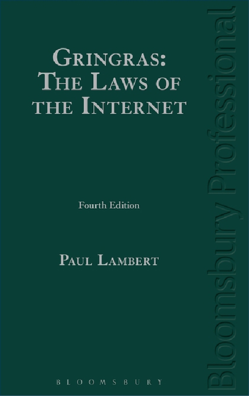 Gringras: The Laws of the Internet