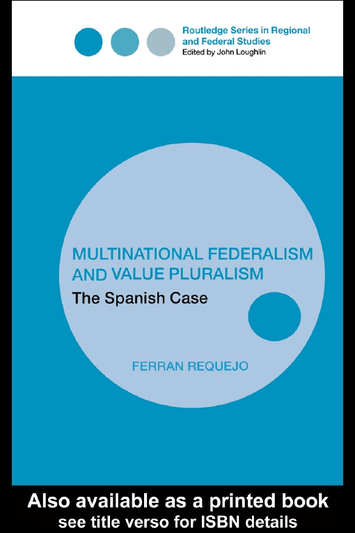Multinational Federalism and Value Pluralism