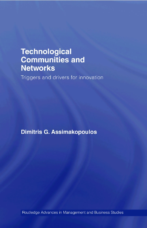 Technological Communities and Networks