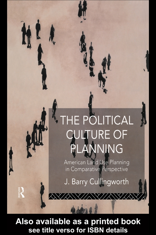 Political Culture of Planning