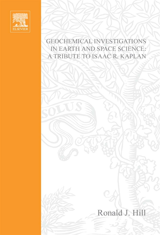 Geochemical Investigations in Earth and Space Sciences