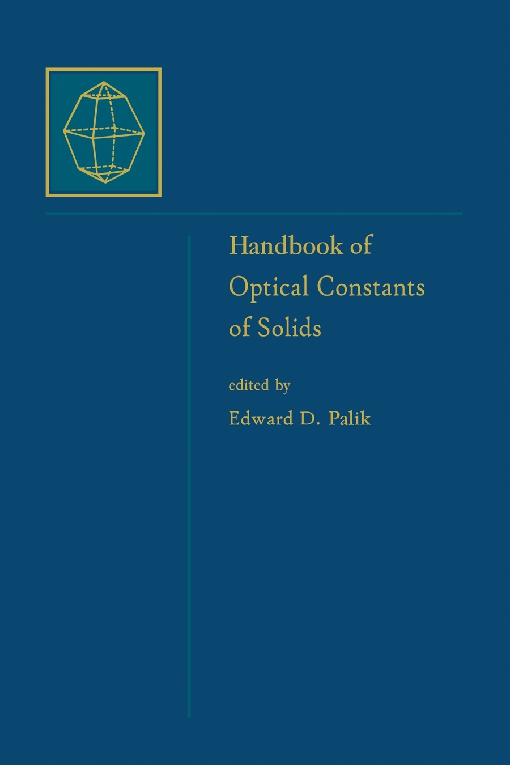 Handbook of Optical Constants of Solids, Author and Subject Indices for Volumes I, II, and III