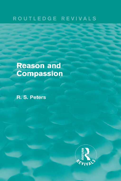 Reason and Compassion (Routledge Revivals)