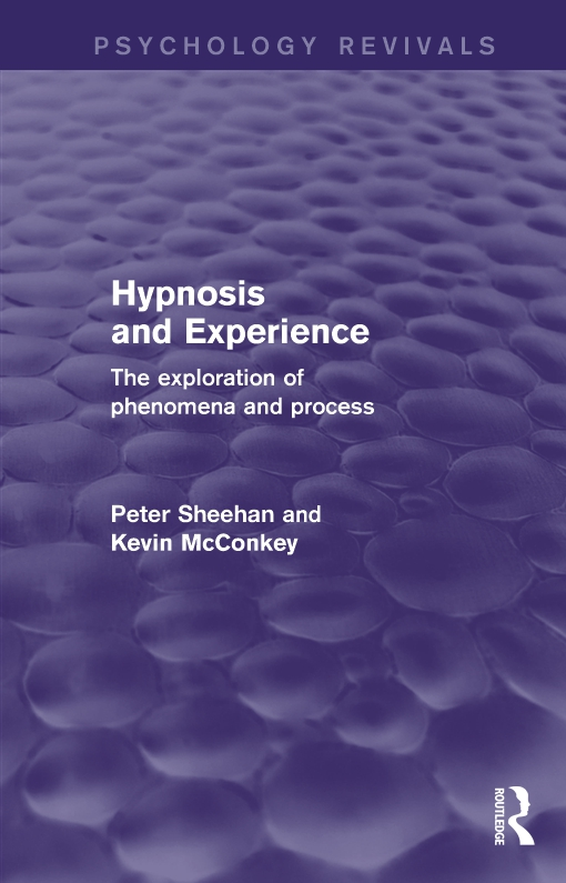 Hypnosis and Experience (Psychology Revivals)