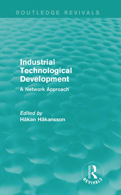 Industrial Technological Development (Routledge Revivals)
