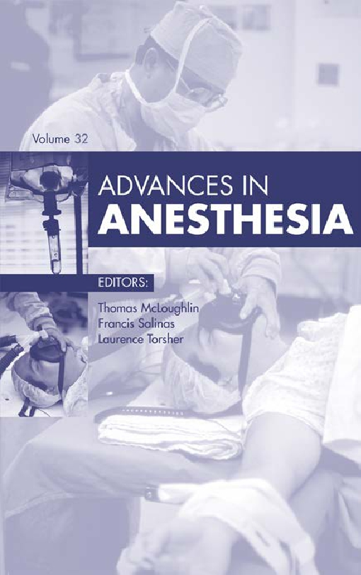 Advances in Anesthesia,