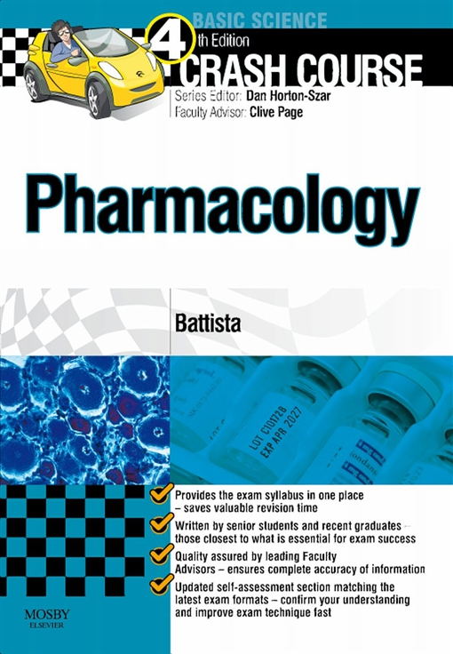 Crash Course: Pharmacology Updated Edition