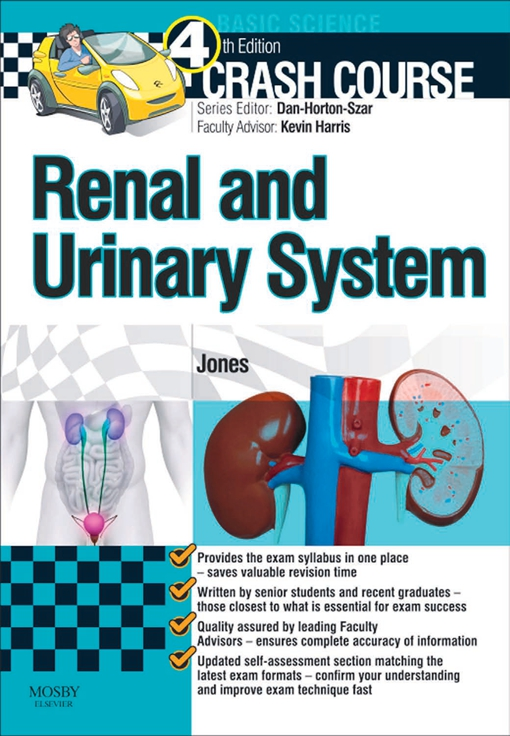 Crash Course Renal and Urinary System Updated Edition - E-Book