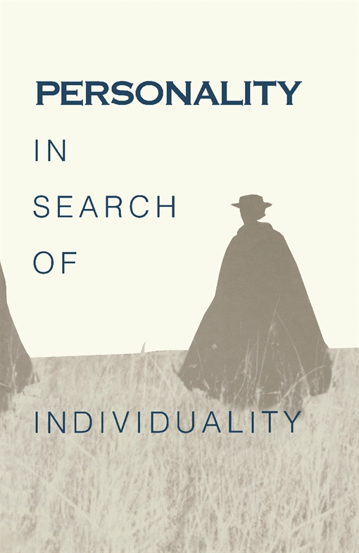 Personality in Search of Individuality