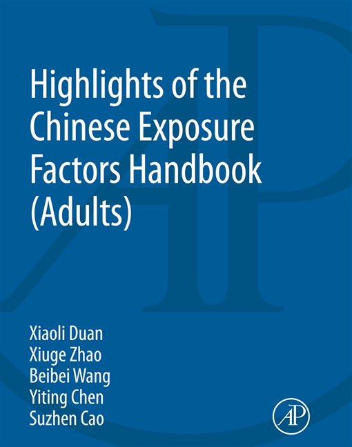 Highlights of the Chinese Exposure Factors Handbook