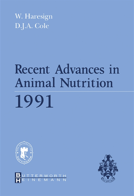 Recent Advances in Animal Nutrition 1991