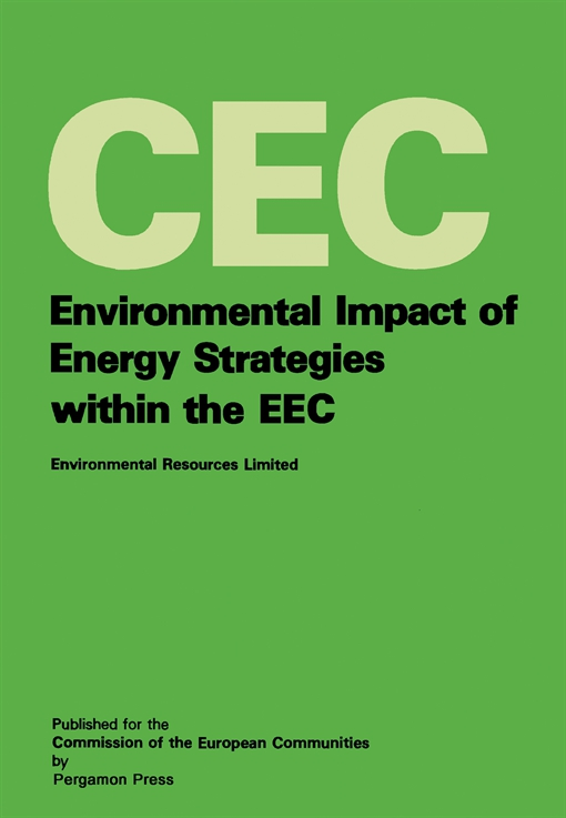 Environmental Impact of Energy Strategies Within the EEC