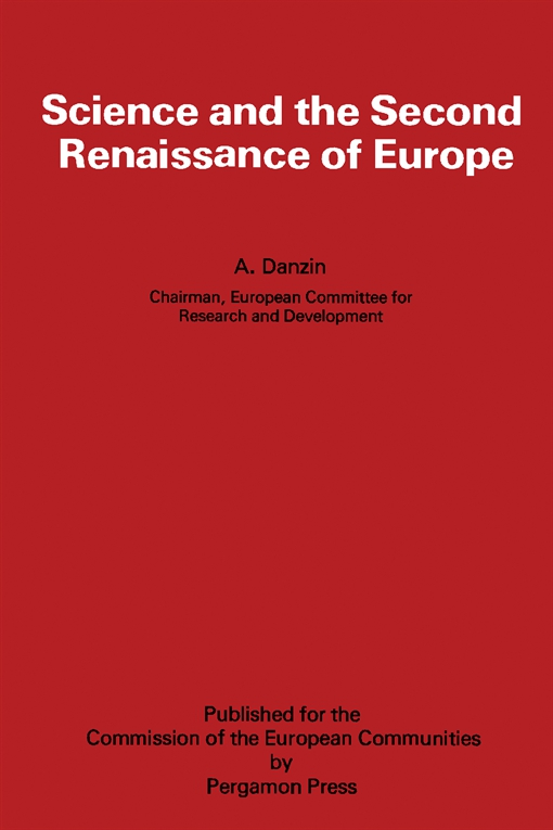 Science and the Second Renaissance of Europe