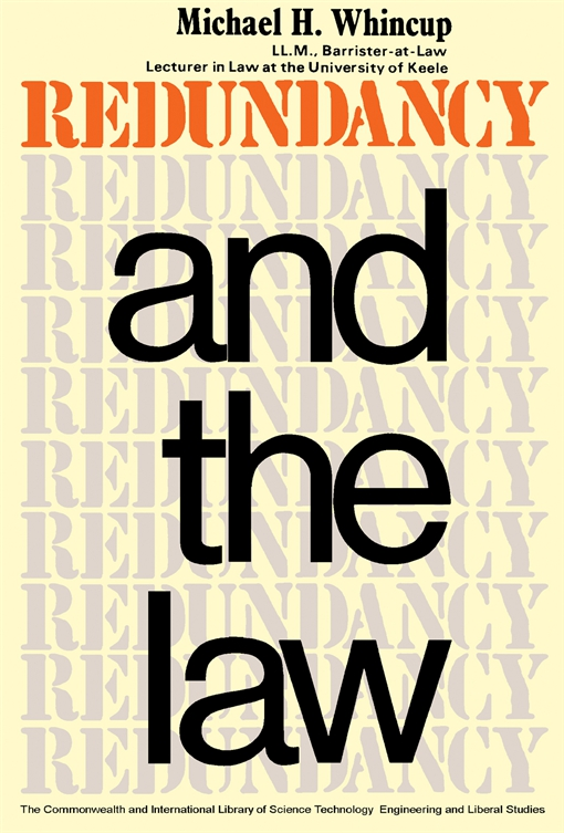 Redundancy and the Law