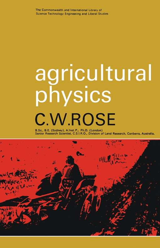 Agricultural Physics
