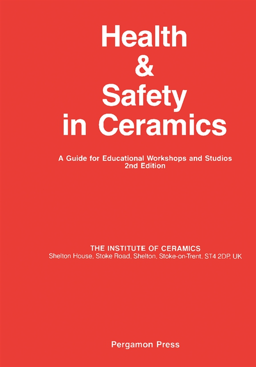 Health and Safety in Ceramics