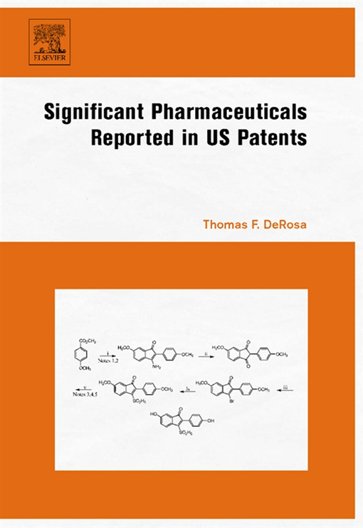 Significant Pharmaceuticals Reported in US Patents