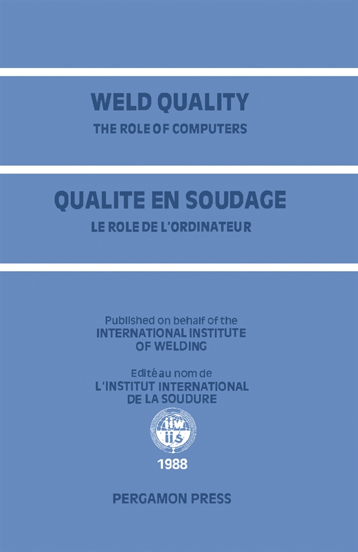 Weld Quality: The Role of Computers