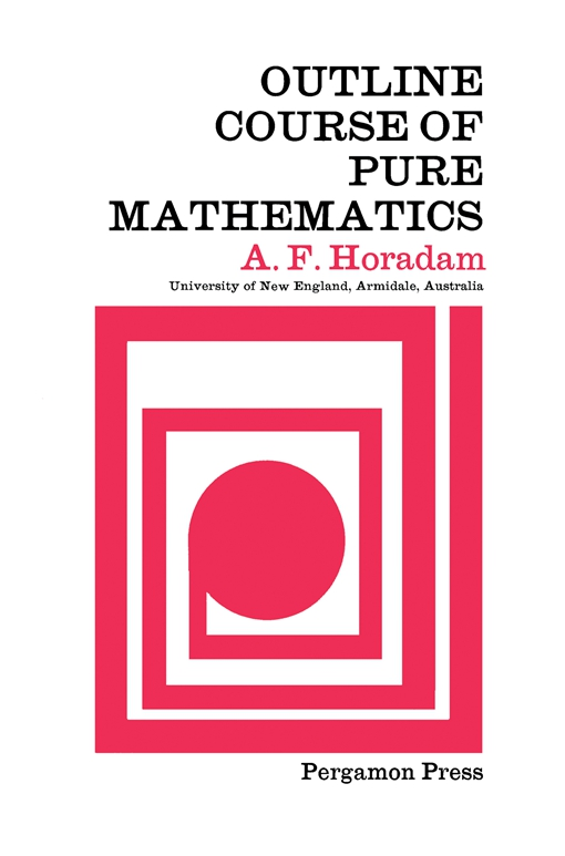 Outline Course of Pure Mathematics
