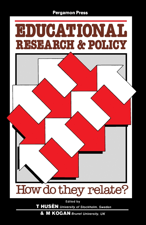Educational Research and Policy: How Do They Relate?