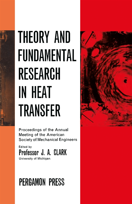 Theory and Fundamental Research in Heat Transfer