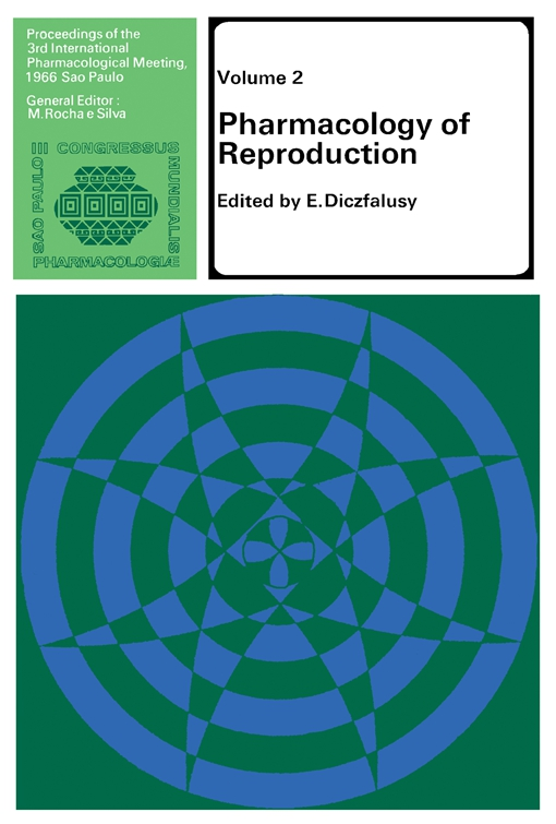 Pharmacology of Reproduction