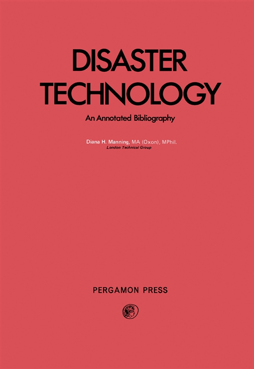 Disaster Technology