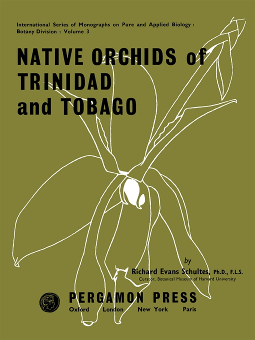 Native Orchids of Trinidad and Tobago