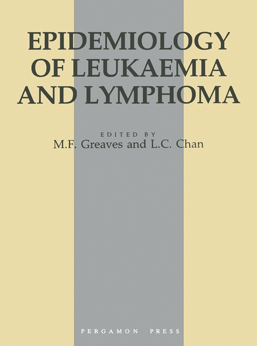 Epidemiology of Leukaemia and Lymphoma