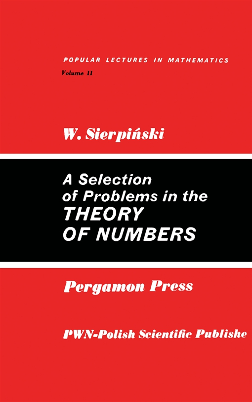 A Selection of Problems in the Theory of Numbers
