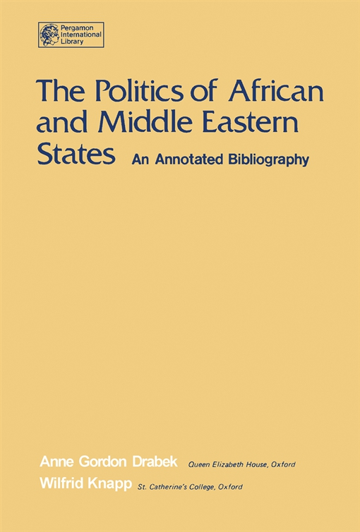 The Politics of African and Middle Eastern States