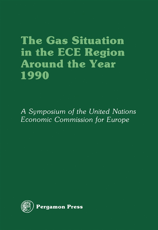The Gas Situation in the ECE Region Around the Year 1990