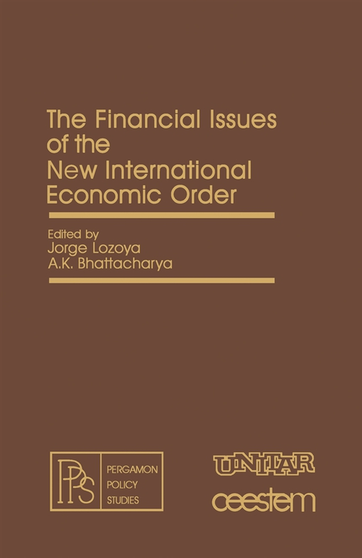 The Financial Issues of the New International Economic Order