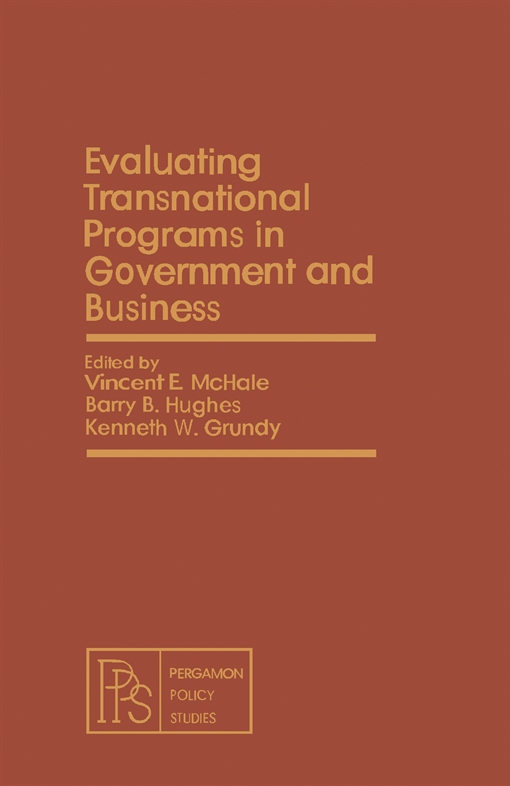 Evaluating Transnational Programs in Government and Business