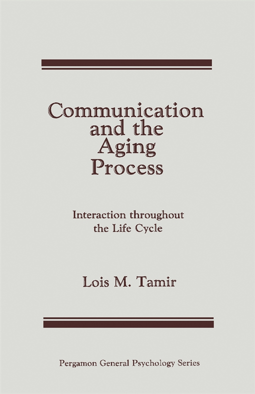 Communication and the Aging Process