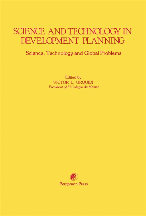 Science and Technology in Development Planning