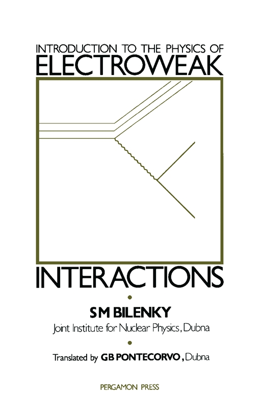 Introduction to the Physics of Electroweak Interactions