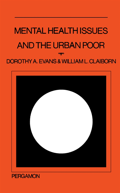 Mental Health Issues and the Urban Poor