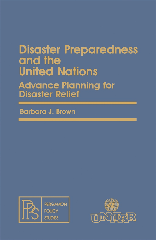 Disaster Preparedness and the United Nations