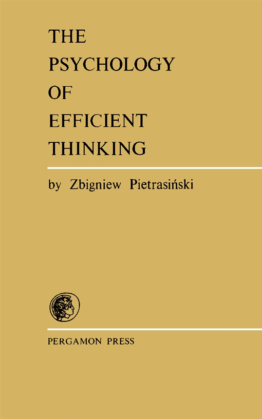 The Psychology of Efficient Thinking