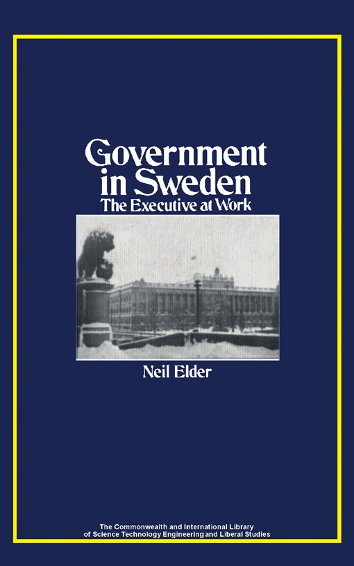 Government in Sweden