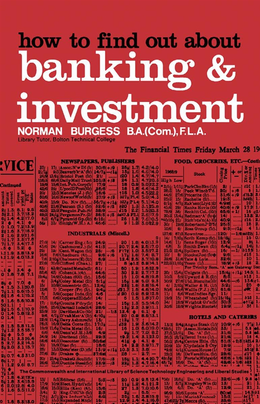How to Find Out About Banking and Investment