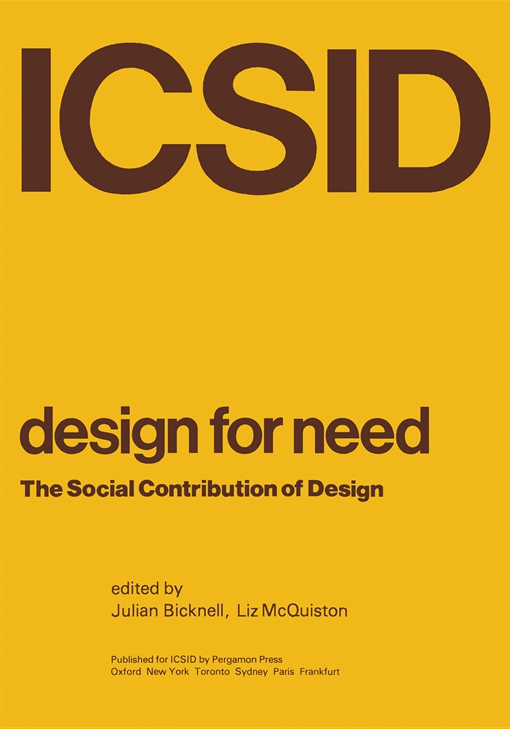 Design for Need, The Social Contribution of Design