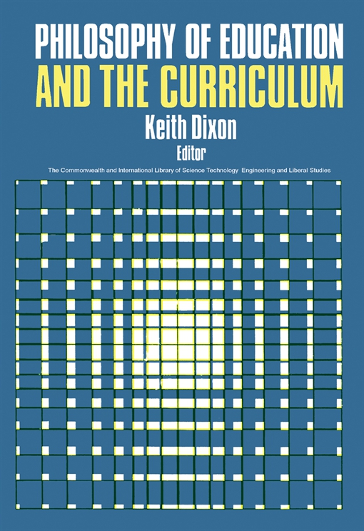Philosophy of Education and the Curriculum