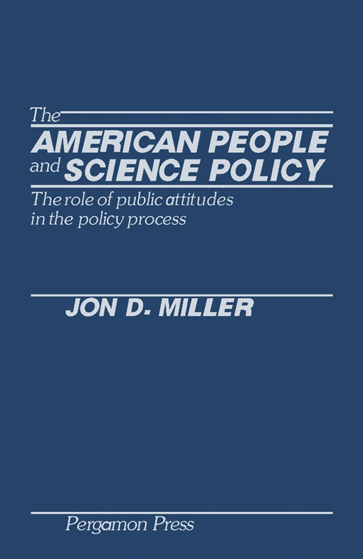 The American People and Science Policy