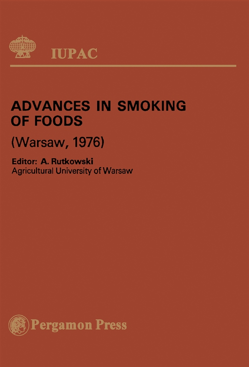 Advances in Smoking of Foods