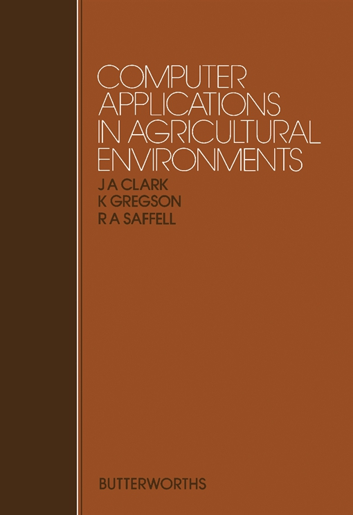 Computer Applications in Agricultural Environments