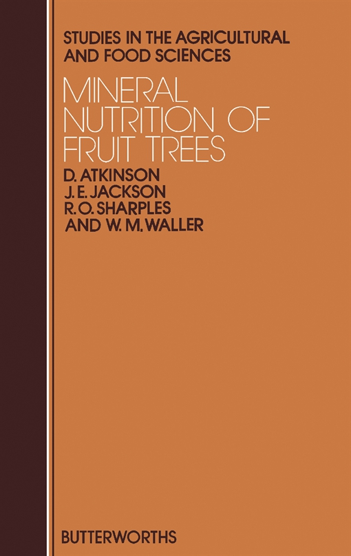 Mineral Nutrition of Fruit Trees