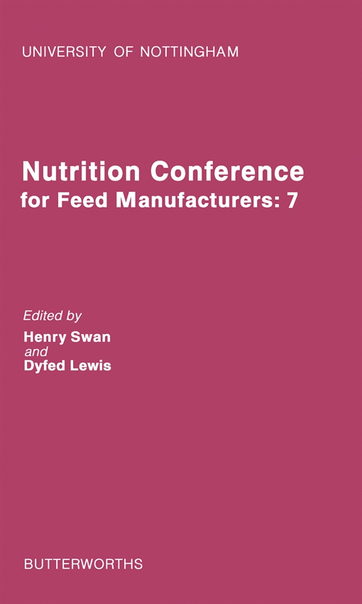 Nutrition Conference for Feed Manufacturers
