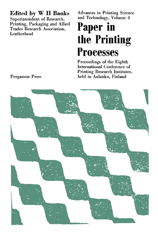 Paper in the Printing Processes